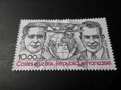 France 1981 Stamp Aerial 55, Plane Breguet Costes, Aerienne, Obliterated Airmail