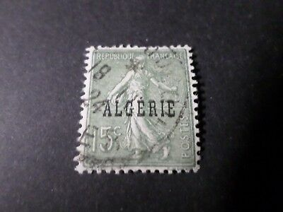 Algeria, 1924, Stamp 10, Type Sower Overload', Obliterated, VF Used Stamp