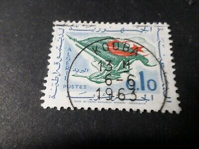 Algeria, 1963, Stamp 370, Peace, Flag, Obliterated, Seal round VF Used Stamp