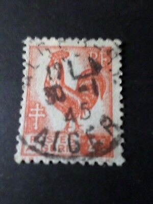 Algeria 1944/45, Stamp 220, Rooster, Obliterated Seal round, VF Stamp