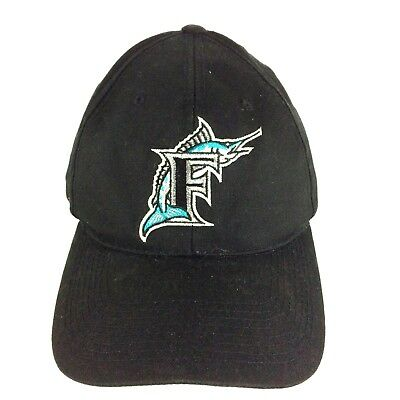 f92b9d7f425 MLB FLORIDA MARLINS OutDoor Cap Hat Snap-Back Curve Brim Adjustable ...
