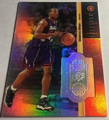 CHAUNCEY BILLUPS 1998-99 SPX Finite Spectrum #71 240/350