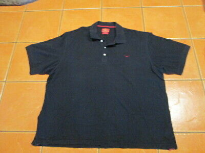 men's RM WILLIAMS relaxed fit moreton bay black polo shirts size 3XB