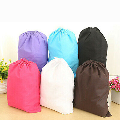Portable Travel Storage Bag Laundry Shoe Drawstring Organizer Pouch Tote Newly