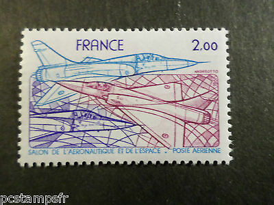 France 1981, Stamp Aerial 54, Aircraft, Mirage 2000, New Airmail MNH