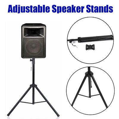 Tripod Speaker Stand Adjustable Concert Band DJ Heavy Duty Audio Stage Monitor