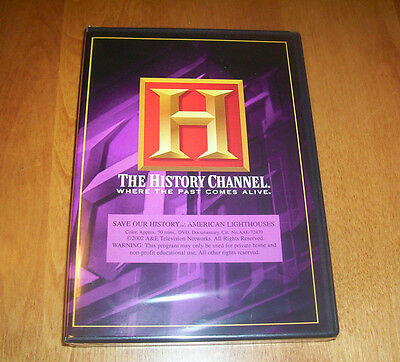AMERICAN LIGHTHOUSES History Channel Famous historic Lighthouse DVD NEW & SEALED