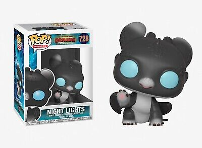 Funko Pop Movies: How to Train Your Dragon - Night Lights Vinyl Figure #37681