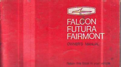 Genuine Ford Falcon Xy Owner's Handbook Manual