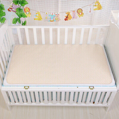 2x Newborn Baby Diaper Changing Mat Cotton Breathable Waterproof Changing Pads