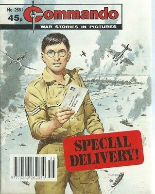 Special Delivery,commando War Stories In Pictures,no.2661,war Comic,1993