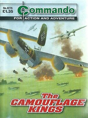The Camouflage Kings,commando For Action And Adventure,no.4275,war Comic,2010