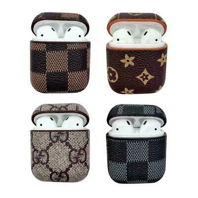 For Apple AirPods Case Protect Leather Cover Skin AirPod Earphone Charger Cases
