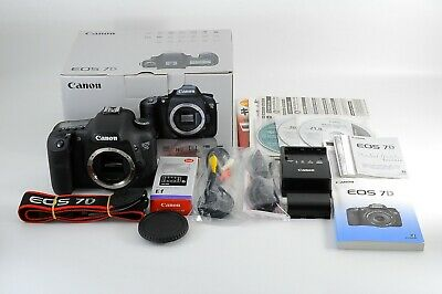 [Top Mint Box] Canon EOS 7D 18.0MP Digital SLR Camera Body 13k shots from Japan