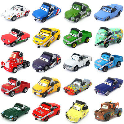Disney Pixar Cars Command Cars Toy Car 1:55 Diecast Model Loose Boys Kids Gifts