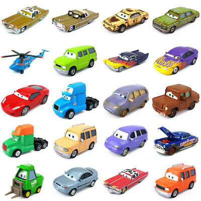 Disney Pixar Cars Other Characters Metal Toy Car 1:55 Diecast Model Boys Gift