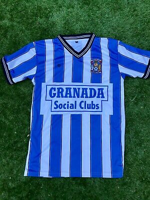 1987 Coventry City Triple S Sports Home Shirt Large