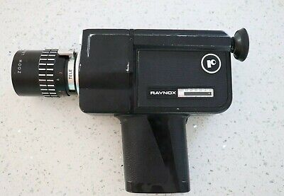 RAYNOX PZ-303 Super 8 Camera Video Camera  Black Vintage Camcorder Made In Japan