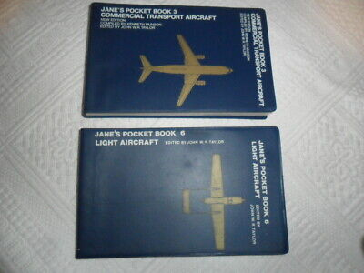 "2 x ""Jane's Pocket Books""-CLEAN COLLECTABLE CONDITION-FREE UK POST-BUY NOW £8.50"