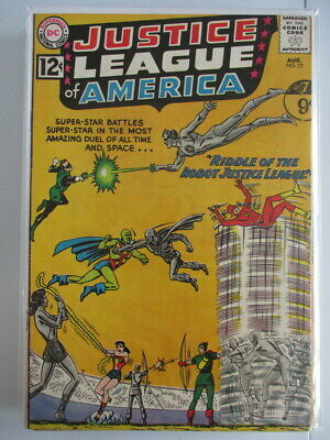 Justice League of America Vol. 1 (1960-1987) #13 VF-