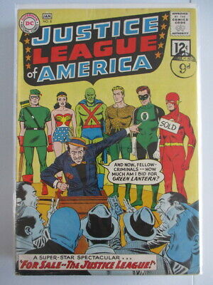 Justice League of America Vol. 1 (1960-1987) #8 FN-