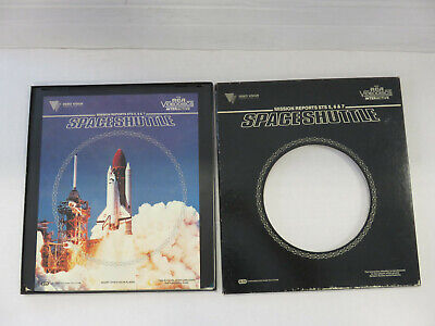 Mission Reports STS 5, 6, & 7: SPACE SHUTTLE CED Video Disk - Video Vision 1983