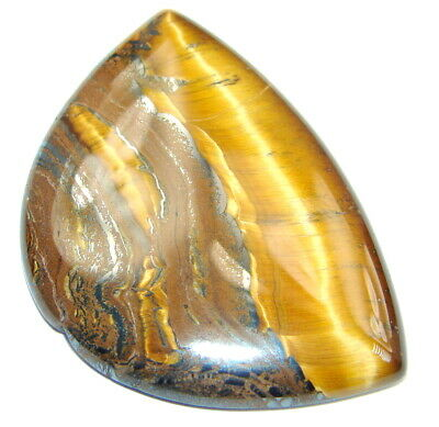 Natural Amazing golden tigers's eye 66.5ct loose stone from SilverRush Style