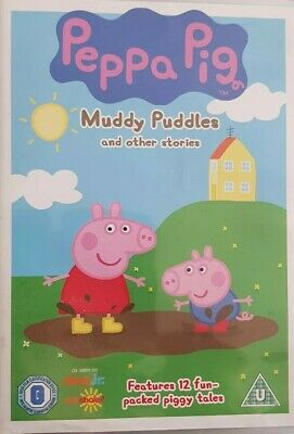 Peppa Pig - Muddy Puddles And Other Adventures DVD (2007) Region 2