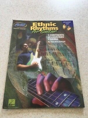 Ethnic Rhythms for Electric Guitar: 5 Continents * 27 Countries * 2 Hands