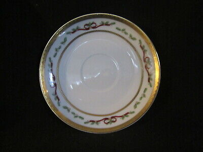 Royal Heritage WINTER GARLAND - Saucer Only