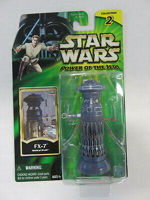 STAR WARS Power of the Jedi - FX-7 MEDICAL DROID - NEW! Hasbro 2001