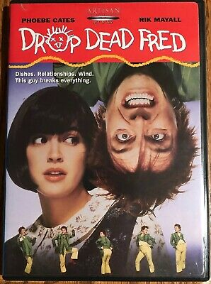 RARE OOP DVD Drop Dead Fred Region 1 official U.S. release with chapter insert