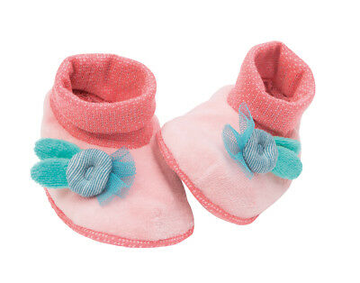 Moulin Roty Mademoiselle et Ribambelle Baby Slippers 0 - 6 months by Wyestyles