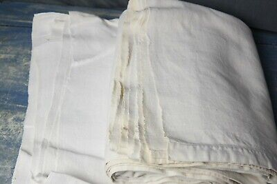 FRENCH HEMP CHANVRE SHEETS JOB LOT 4.2kg CRAFTS REWORKING UPHOLSTERY #F13