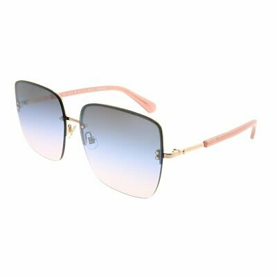 c53ee838918e NWT Kate Spade Janay/S 35JQT Gold Pink Frame Blue 2Pink Gradient 61mm  Sunglasses