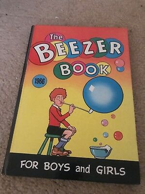Vintage The Beezer Book Annual 1966 - Very Good Condition For Age