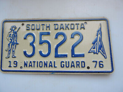 Other US License Plates AIR FORCE NATIONAL GUARD AIRBRUSH METAL AUTO