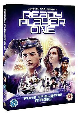 Ready Player One Steven Spielberg Tye Sheridan Olivia Cooke Warner Dvd &uv L New