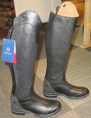 New Wmns ARIAT V Sport Zip Leather Equestrian Boots sz 7.5 B