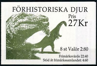 [110918] Sweden 1992 good complete booklet very fine MNH