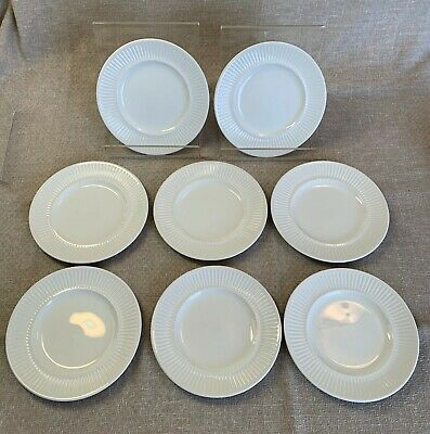 """Johnson Brothers Athena Made in England 6 1/4"""" Bread Plate White - Set of 8"""