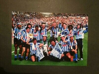 Cyrille Regis (Coventry City) Hand-Signed 10x7 Team Photo 1987 FA Cup Winners