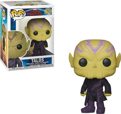 Captain Marvel - Talos - Funko Pop! Marvel: (2019, Toy NEUF)