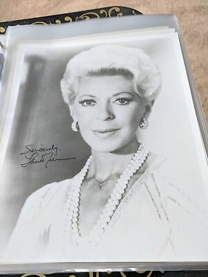 Cards & Papers Lana Turner The Postman Always Rings Twice Autograph Hand Signed Sc