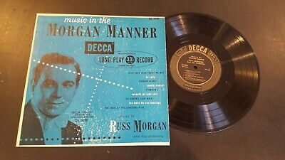 Lp(10 Inch) Russ Morgan Music In The Morgan Manner Decca Dl-5098