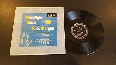Russ Morgan - 33 single 10-inch –DECCA DL 5365 MOONLIGHT MUSIC