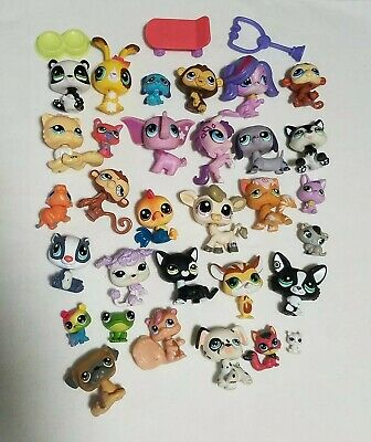 Littlest Pet Shop animal lot, lots of animals in various sizes-toys