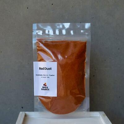 Red Dust: Homemade Chilli Powder 100g SALT-FREE 100% Herbs/Spices Only
