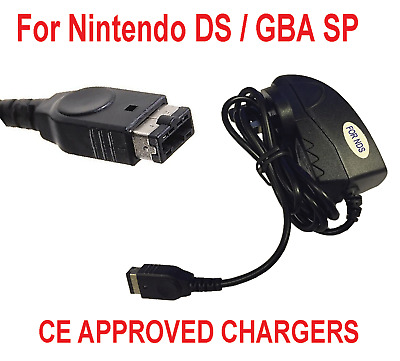 Mains Fast Power Nintendo Ds Charger Adaptor Plug Ce Approved& Gameboy Advance G