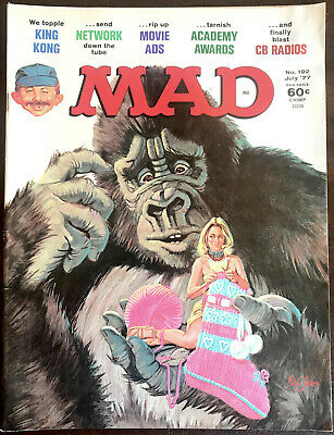 Image result for mad magazine king kong